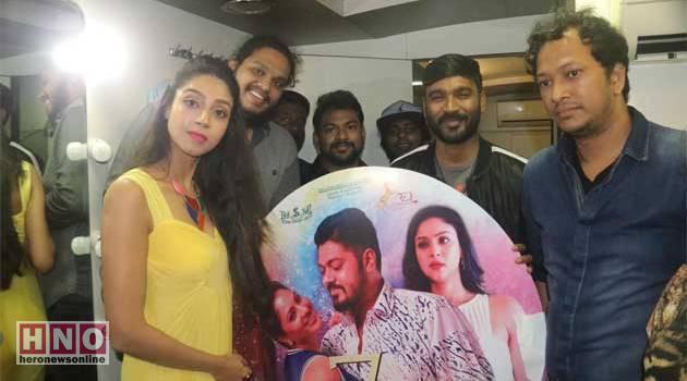 '7 நாட்கள்' திரைப்படத்தின் இசை: தனுஷ் வெளியிட்டார்!