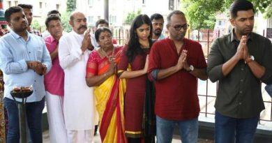 "Arun Vijay – director Kumaravelan film ""AV 30"" launched"