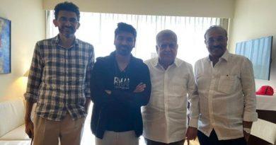 Sekhar Kammula And Producers Meet Dhanush